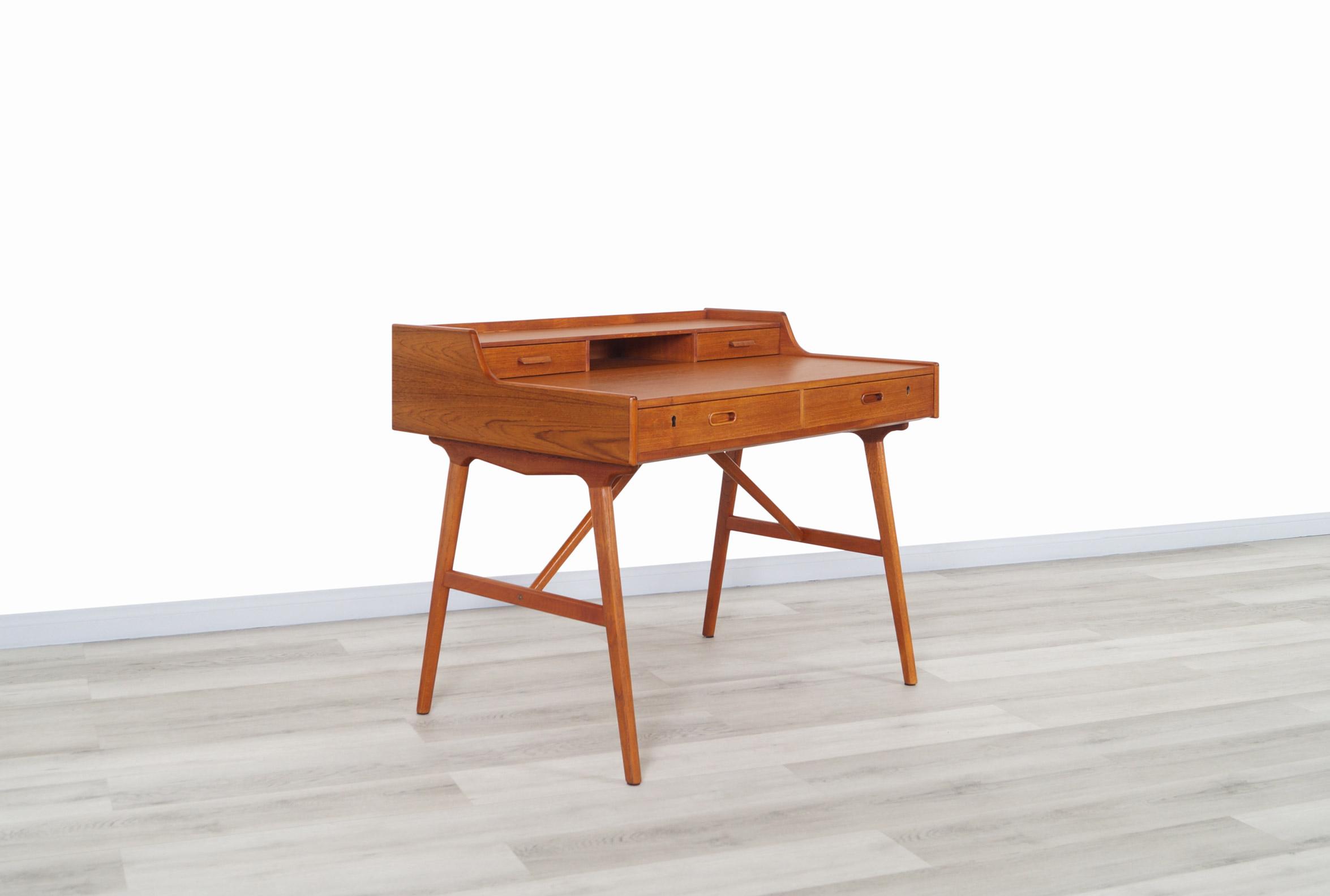 Danish Teak Model #64 Desk by Arne Wahl Iversen