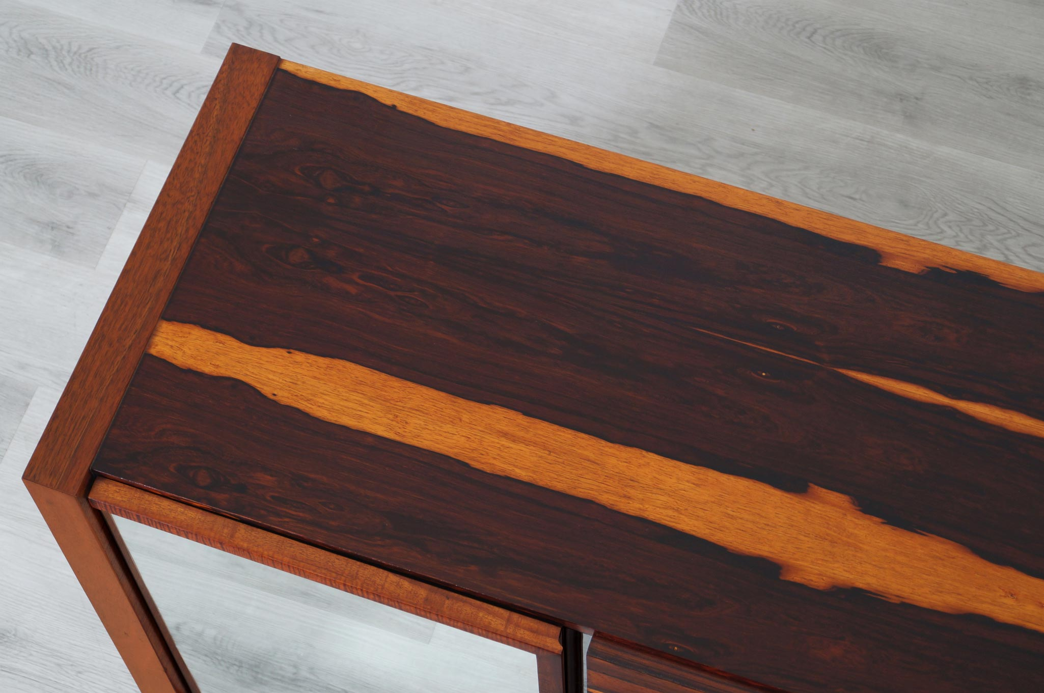 Mid Century Modern Brazilian Rosewood Credenza