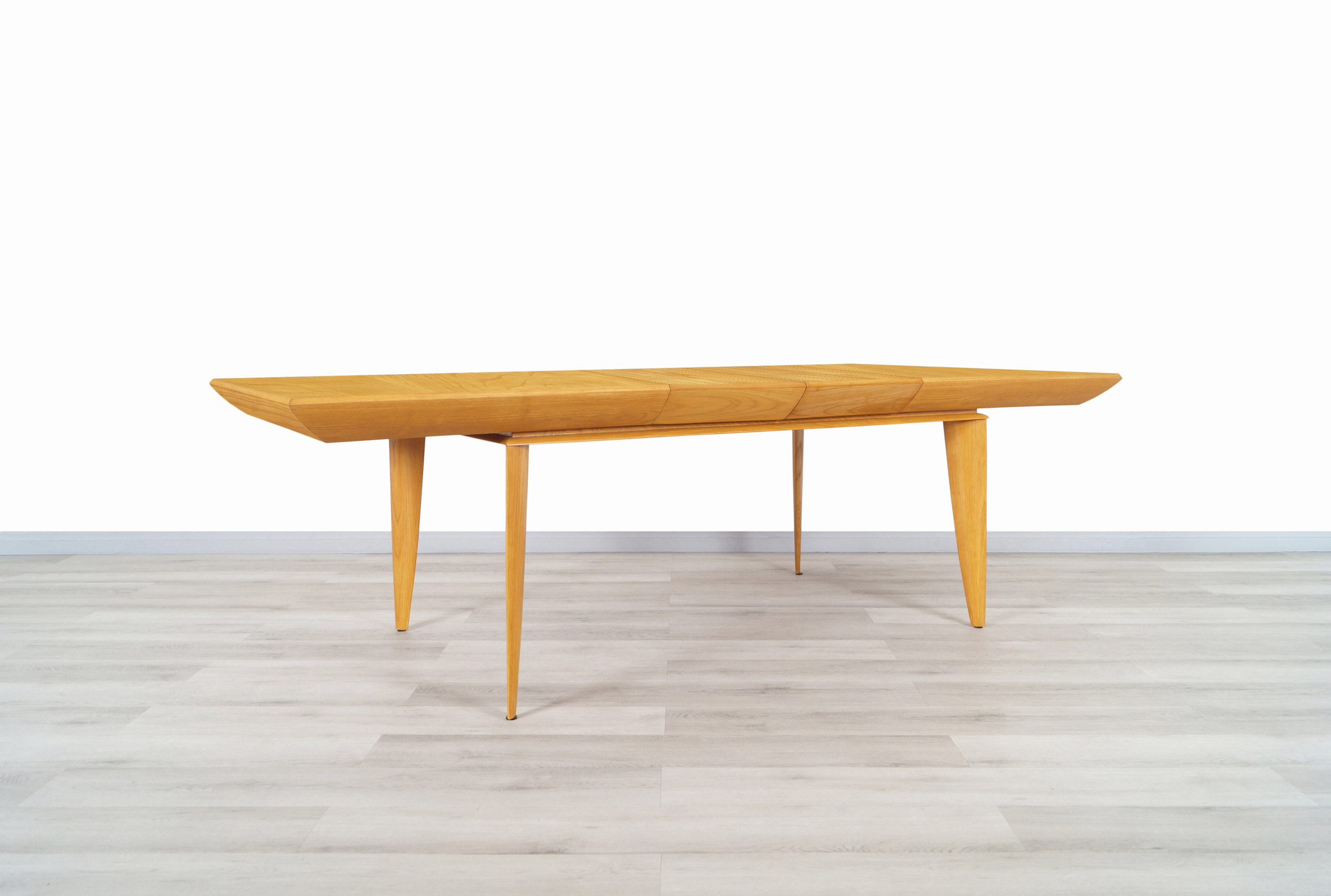 Vintage Expanding Dining Table by Paul Laszlo for Brown Saltman