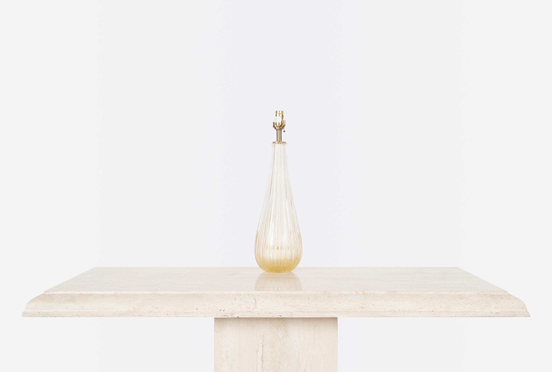 Vintage Italian Modernist Murano Lamps