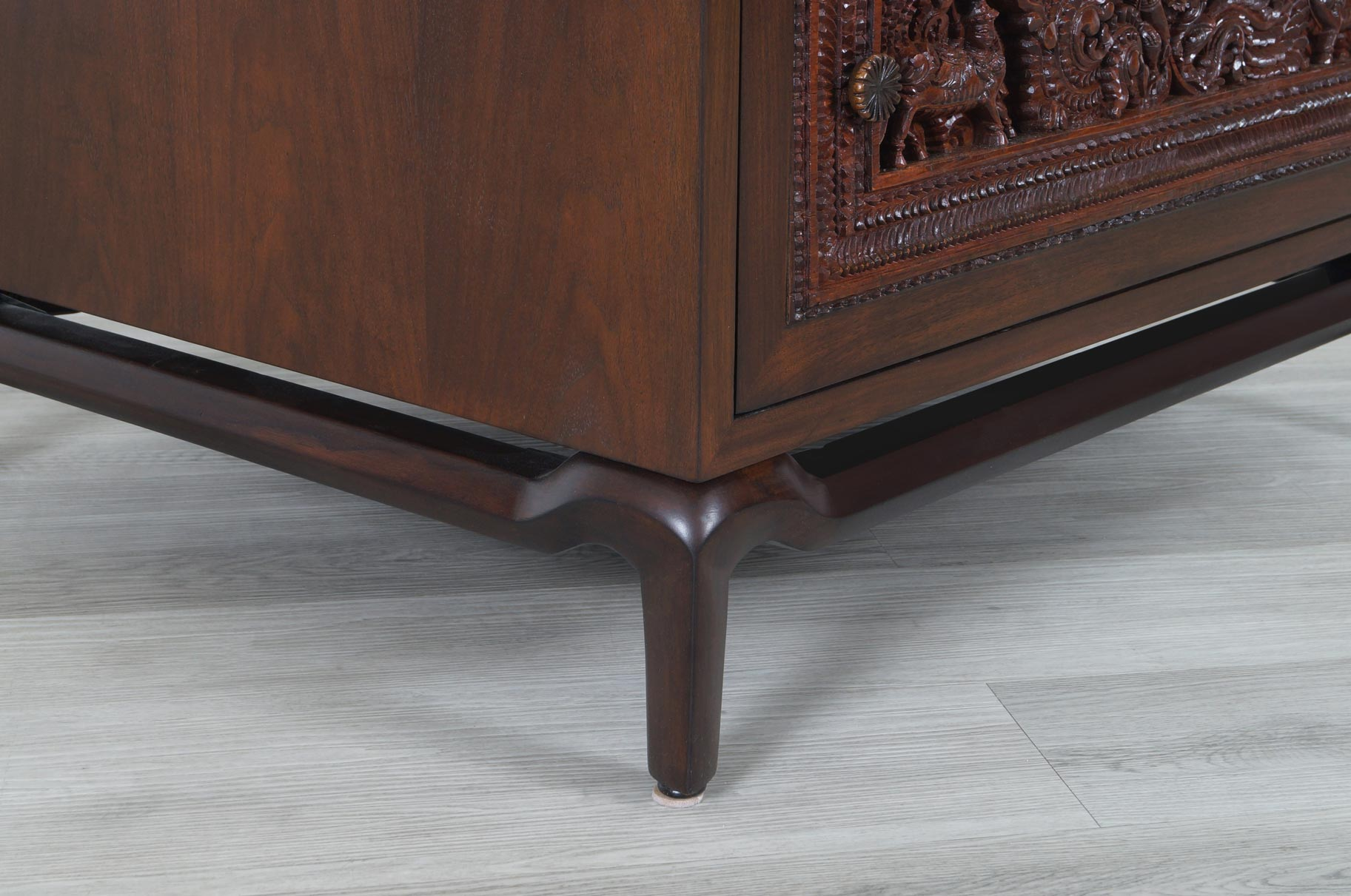 Vintage Walnut Nightstands by Maurice Bailey for Monteverdi Young