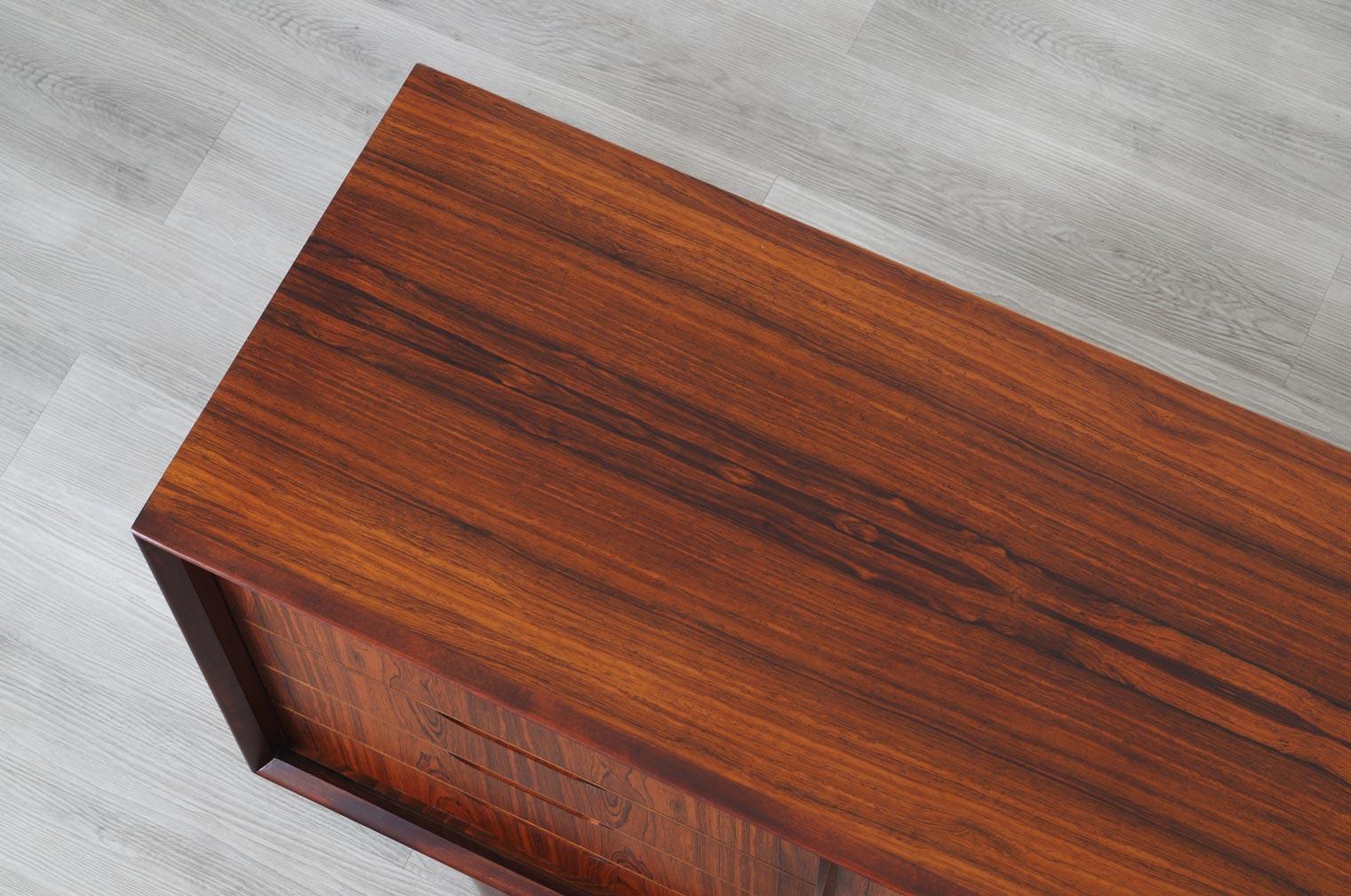 Mid Century Swedish Rosewood Sideboard by Svante Skogh