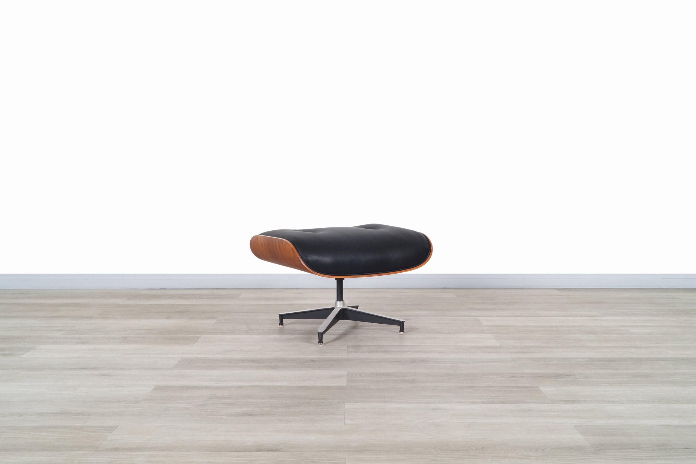 Charles Eames Rosewood Lounge Chair and Ottoman by Herman Miller