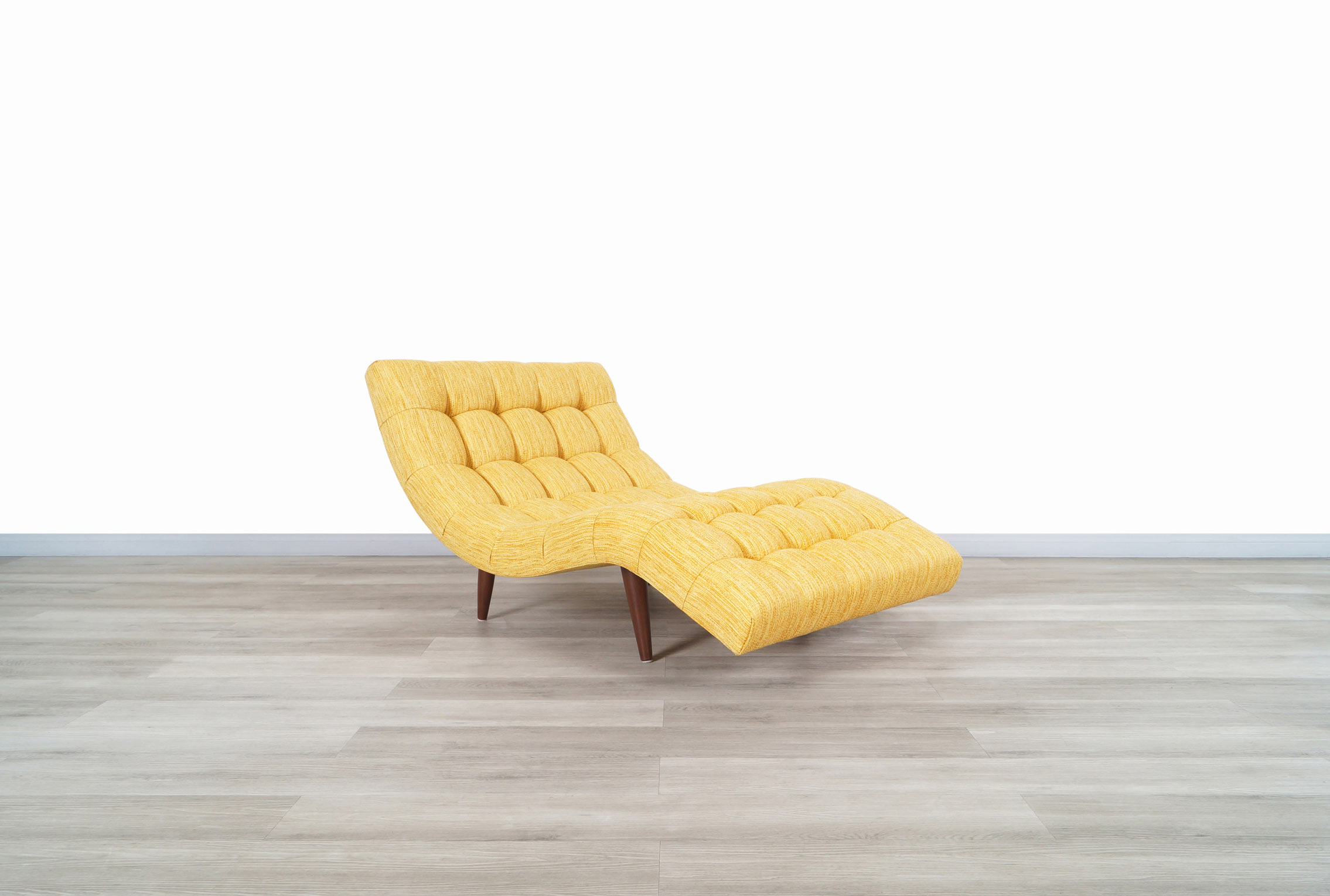 Mid Century Wave Chaise Lounge Chair by Adrian Pearsall