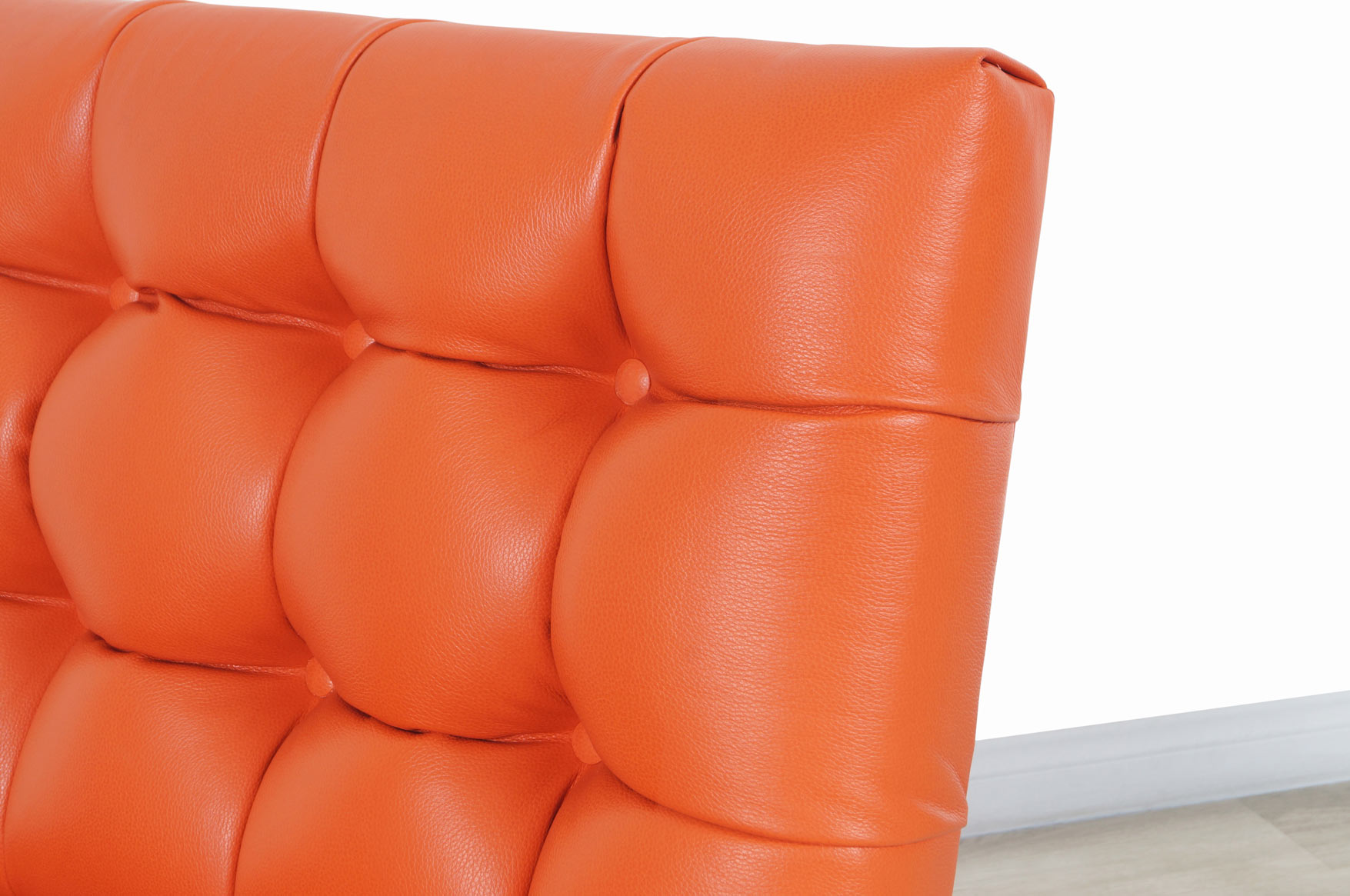 Vintage Leather Slipper Lounge Chairs
