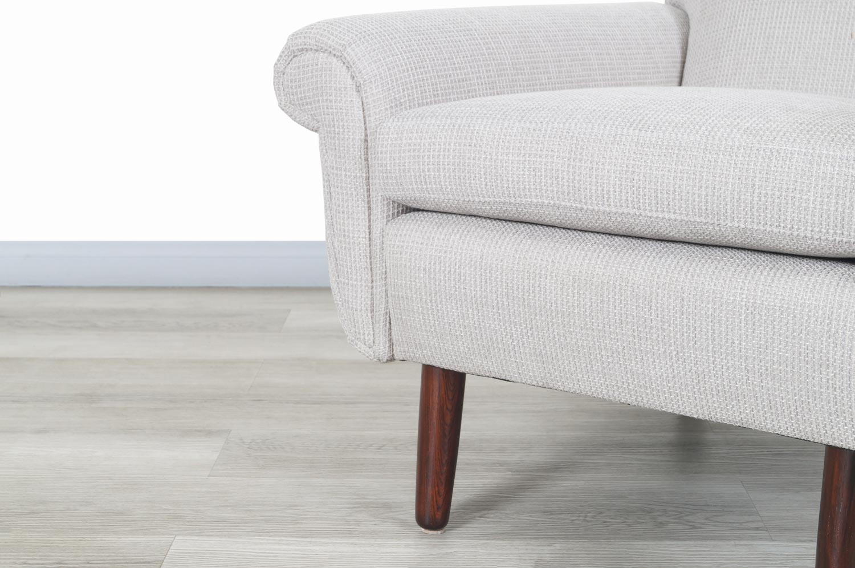 Danish Modern Rosewood Lounge Chairs