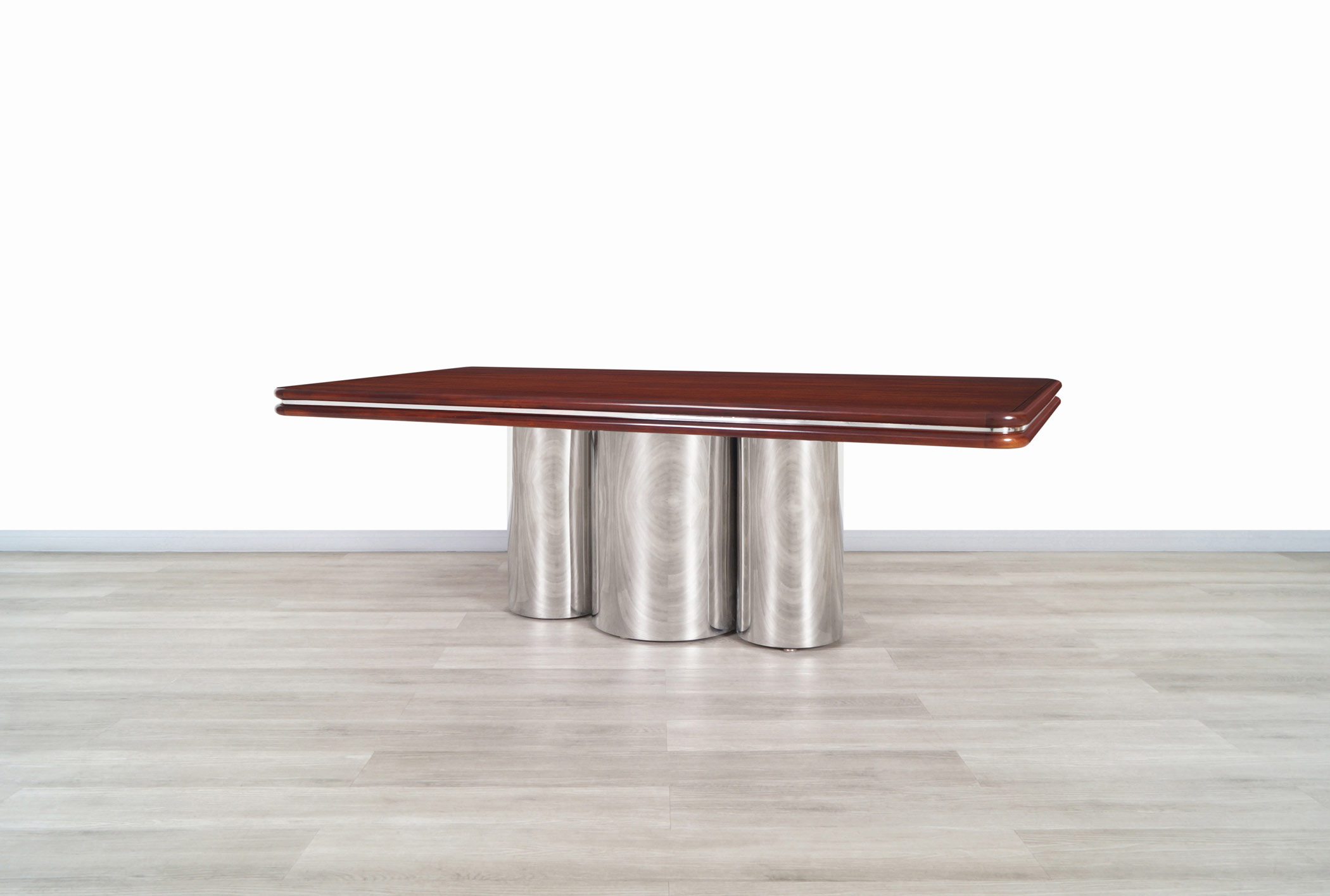 Monumental Radial Dining Table by Stanley Jay Friedman for Brueton